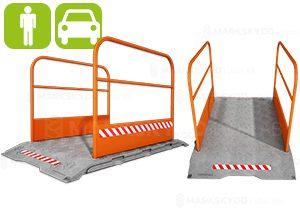 Footbridges & trench covers